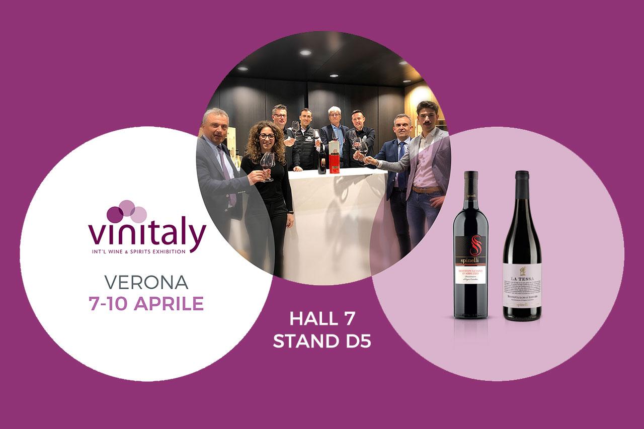 27 03 2019 - Vi aspettiamo al Vinitaly 2019! - Cantine Spinelli